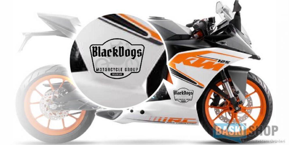 Motosiklet Sticker
