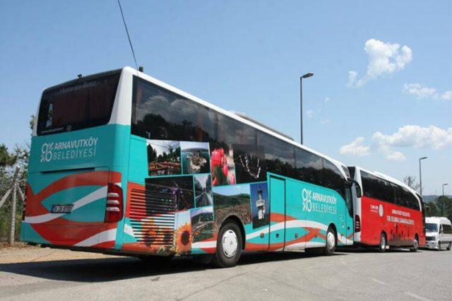 Otobüs Kaplama